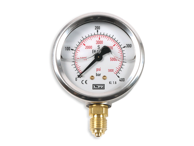 Pressure gauge_Glyzerine filled_Lr Germany